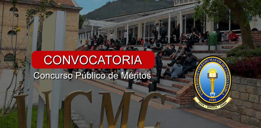 Concurso público de méritos UNICOLMAYOR