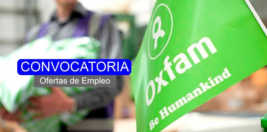 OXFAM requiere profesionales en contaduría o afines
