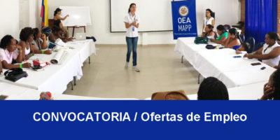 Convocatorias de empleo para profesionales en Mapp OEA