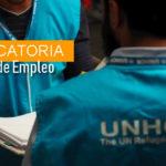 Convocatorias de empleo en Acnur Colombia
