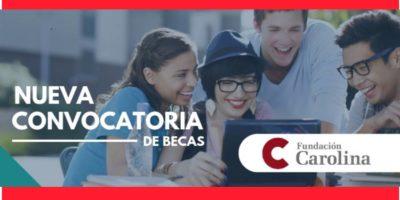 solicitar becas Fundación Carolina