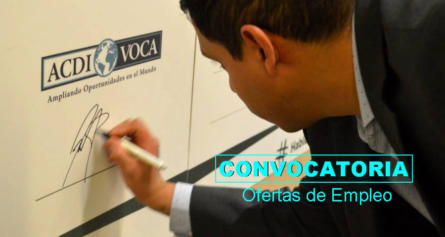 Empleos en ACDI/VOCA