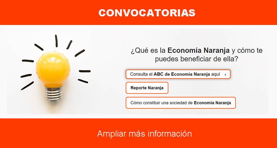 Convocatorias Economía Naranja