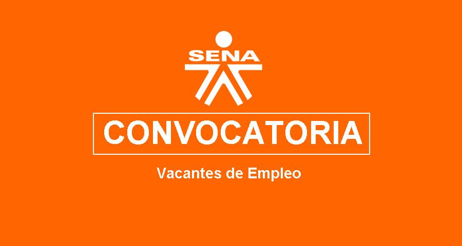 vacantes de empleo en el SENA