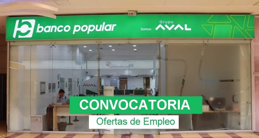 Empleo en el Banco Popular