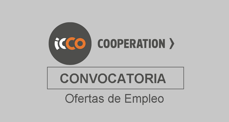ICCO Colombia requiere profesionales