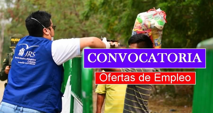 Servicio Jesuita a Refugiados requiere profesionales