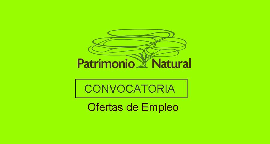 Patrimonio Natural requiere profesionales