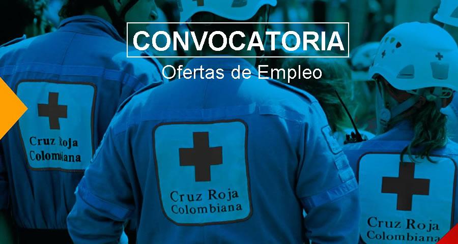 Cruz Roja Colombiana requiere profesionales