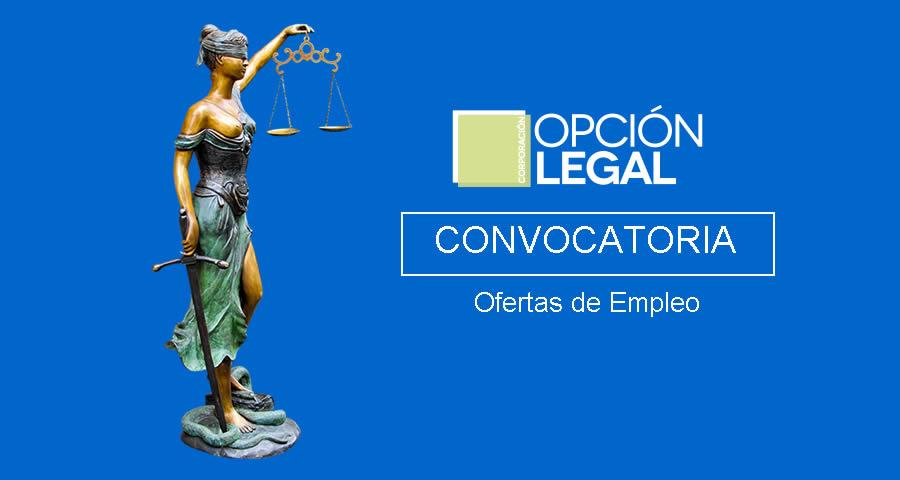 Opción Legal abre convocatoria