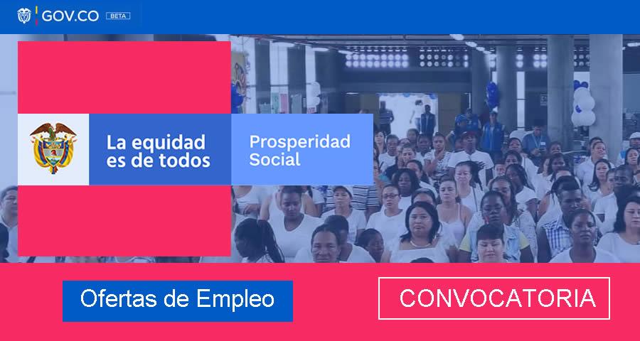 Prosperidad Social abre convocatoria