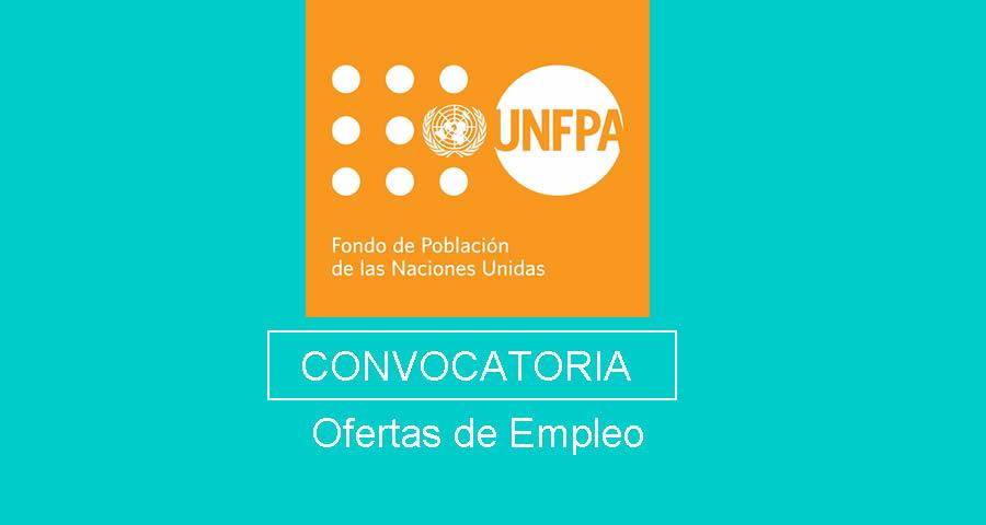 UNFPA requiere profesionales