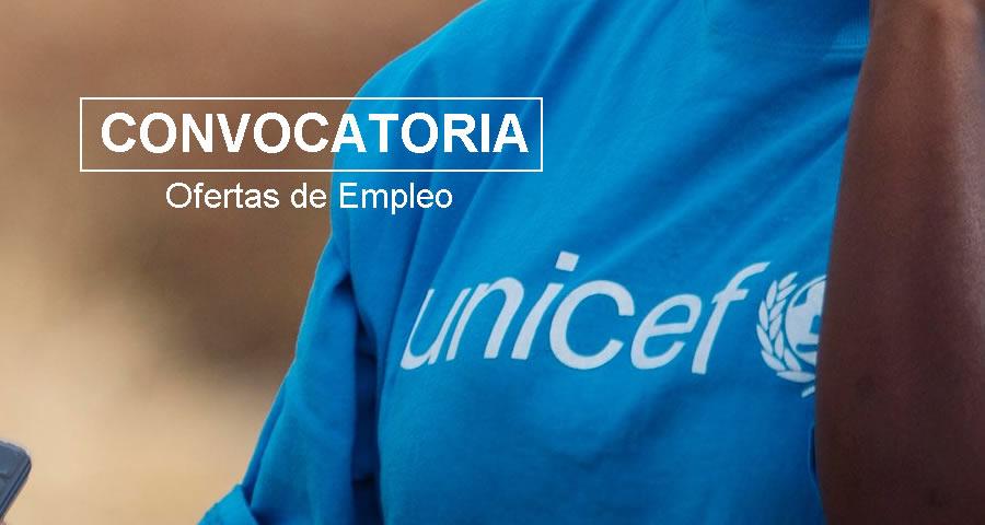 UNICEF requiere profesionales en
