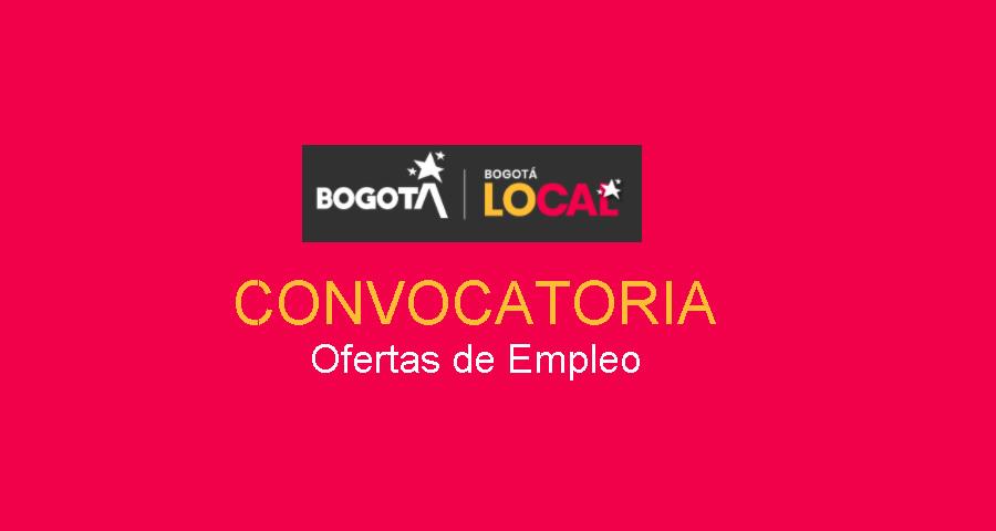 Empleo en la Alcaldía de Bogotá