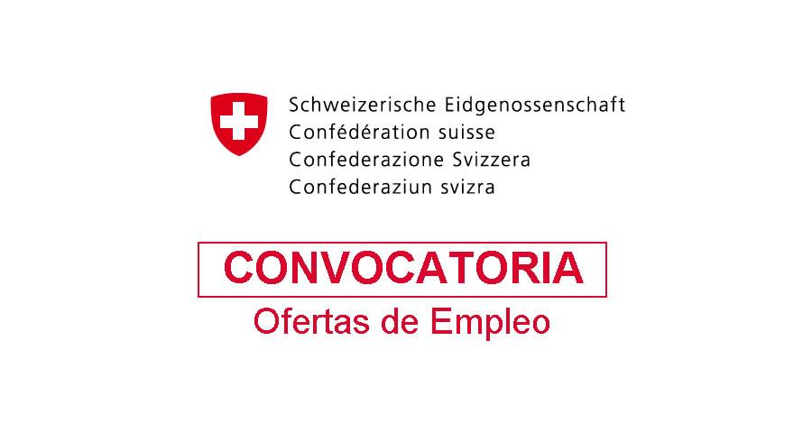 Empleo en Embajada Suiza