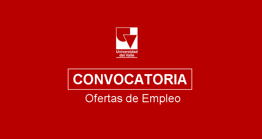 Convocatoria Universidad del Valle