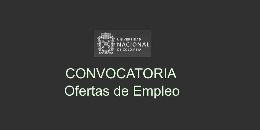 Empleo en Universidad Nacional