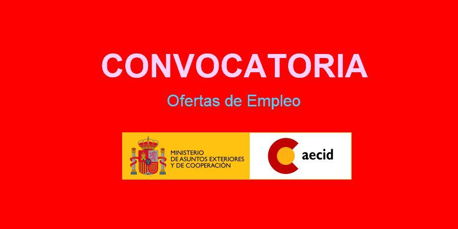 Empleo en AECID