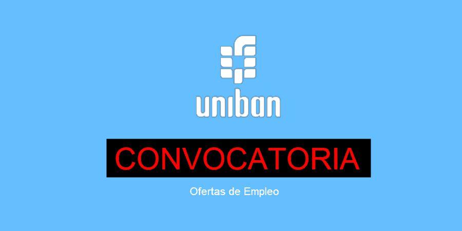 convocatorias de Empleo en Unibán