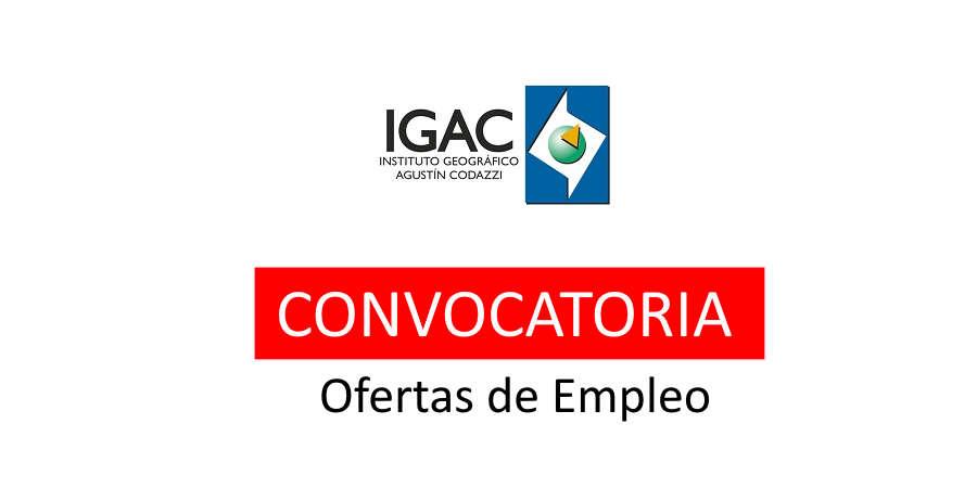 IGAC abre convocatoria