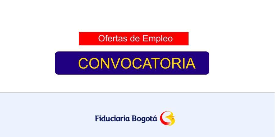Empleo en Fiduciaria Bogotá