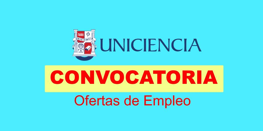 Empleo en Uniciencia